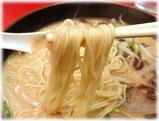 博多天神 味噌ラーメンの麺