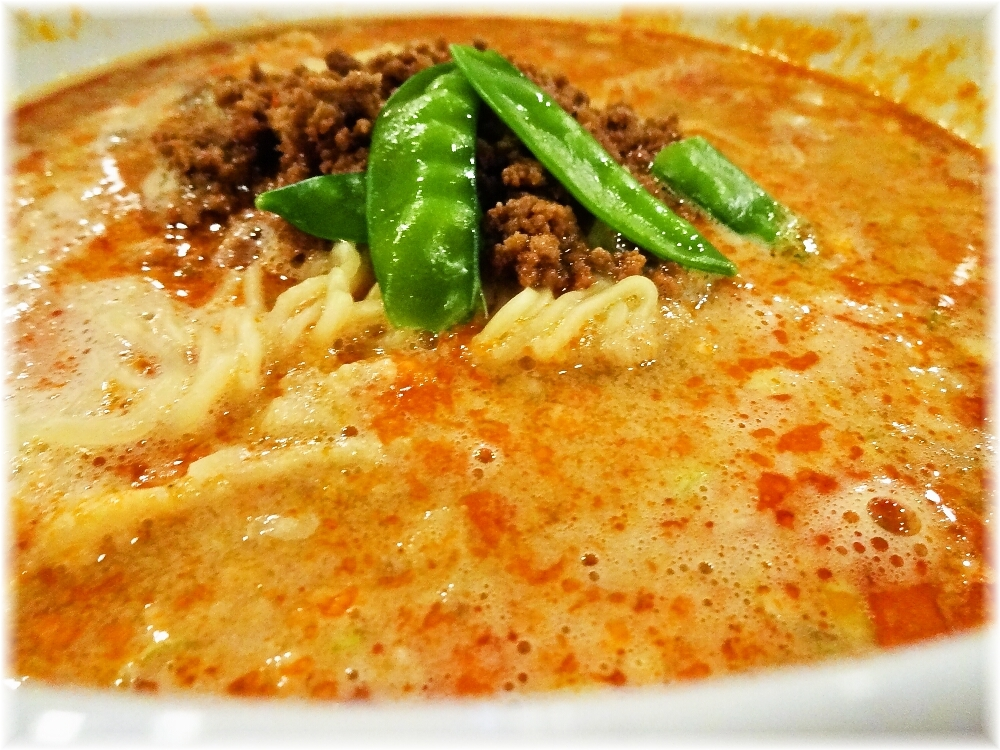 頤和園 四川担担麺のスープ