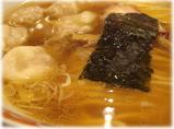 かづ屋五反田店 ワンタンメンのスープ