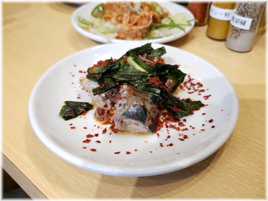 肉汁麺ススム新橋店 ニラサバ