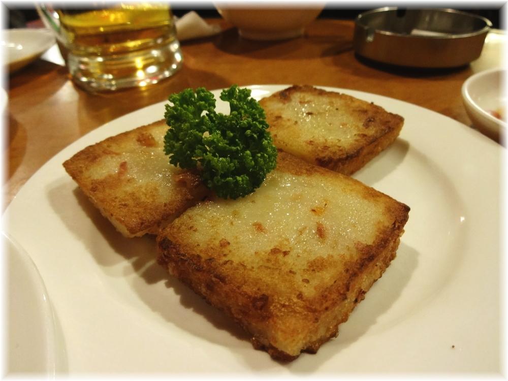 台南担仔麺 大根餅