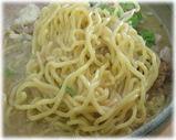 彩未 味噌ラーメンの麺