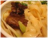 刀削麺荘 新橋店 麺
