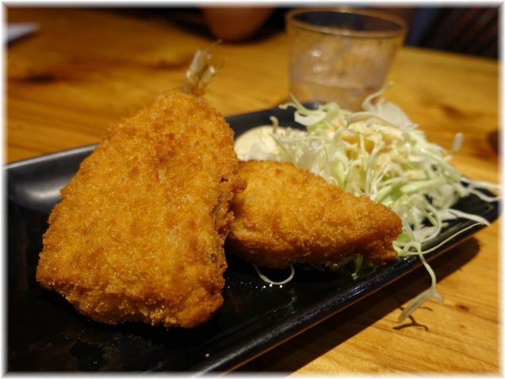 赤のれん節ちゃんラーメン2 魚のフライ
