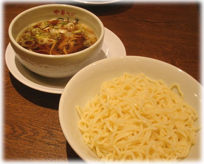 中華そば つし馬 つけ麺(中)