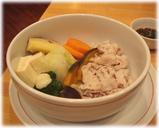 遊食菜彩いちにいさん 黒豚の野菜蒸し