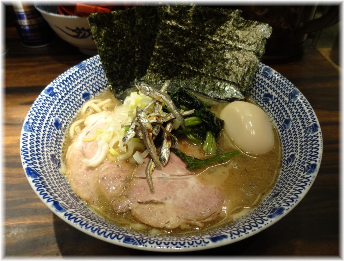 東京煮干屋本舗 特製煮干ラーメン(にぼ増し増し)