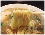 のりや食堂 中華そばの麺