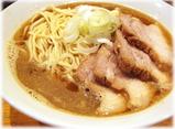 自家製麺 伊藤 肉そば(中)のスープ