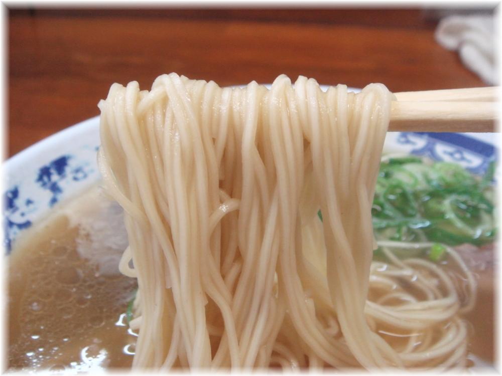 トキハラーメン ラーメンの麺