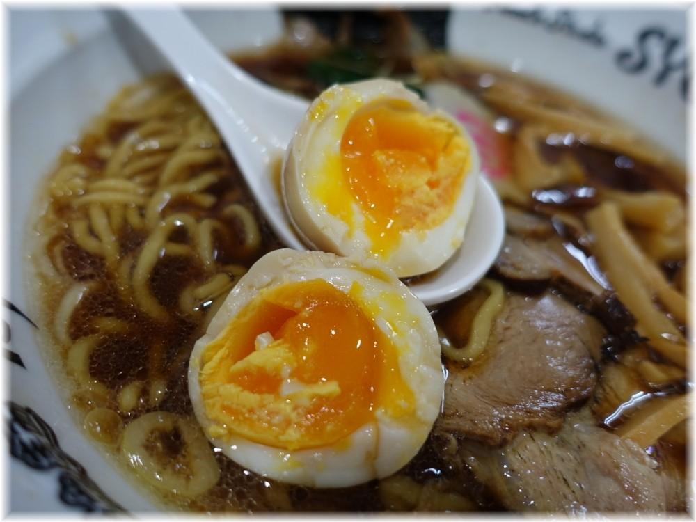 Noodle Studio SYU 周 醤油らーめん全部乗せの味玉