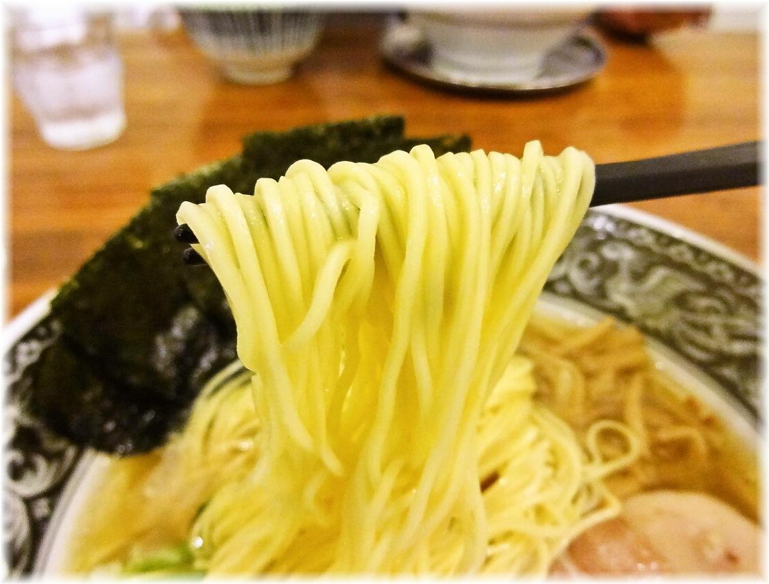 中村屋海老名本店 中村屋らーめん(塩)の麺