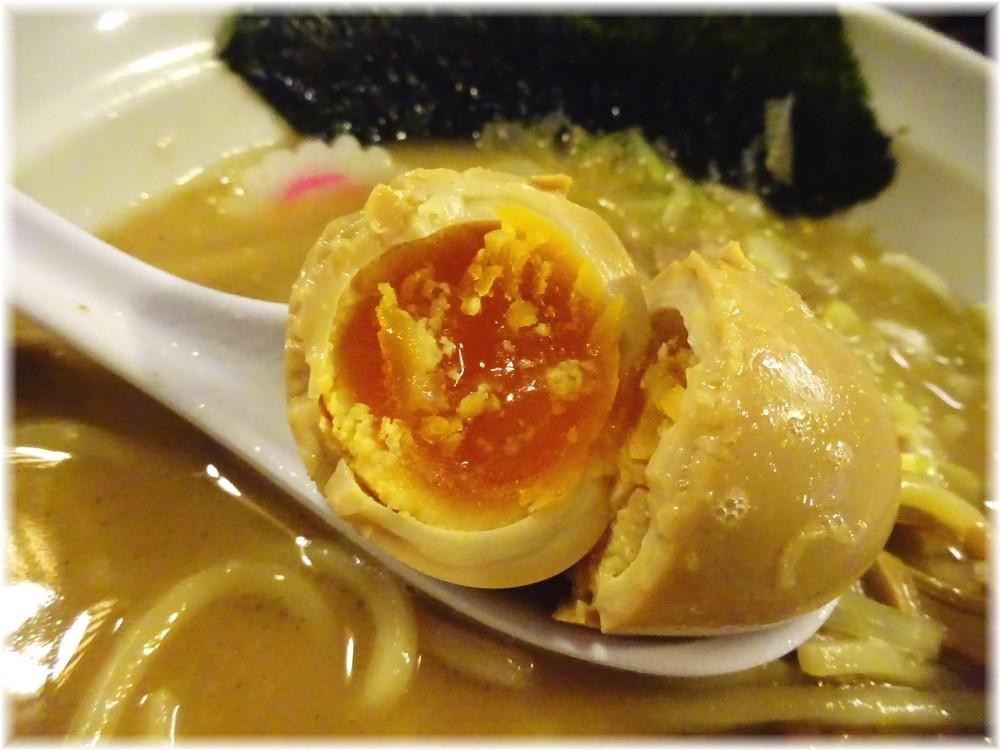 麺屋大斗芝大門店 特製ラーメンAの味付玉子
