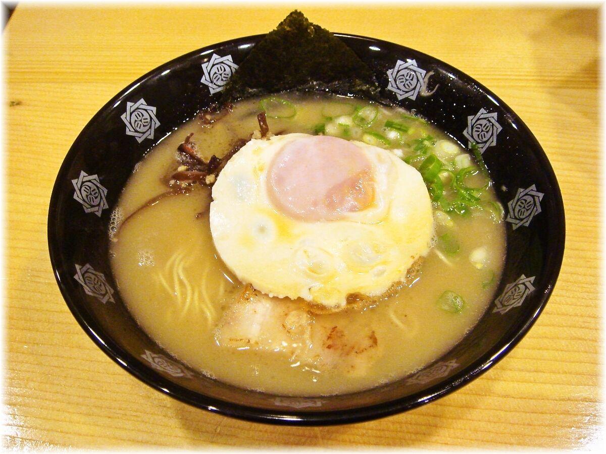 俺式 ラーメン+味噌漬玉子