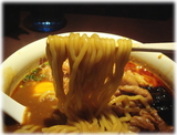 麺屋武蔵 武仁 裏カリー麺の麺
