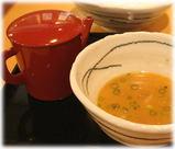 由○ 風味つけ麺のスープ割り