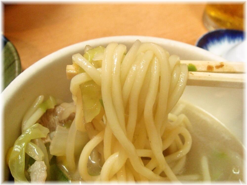 元祖赤のれん節ちゃんラーメン2 チャンポンの麺