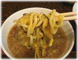 ぽっぽっ屋 湯島店 新つけめんの麺(玉子付け後)