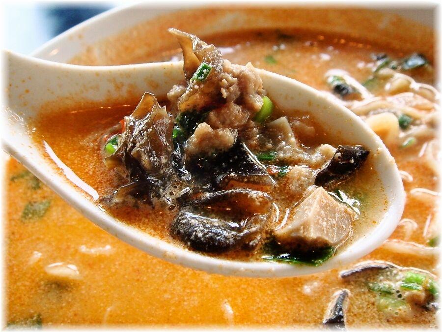 鉄龍山 四川坦々麺の具
