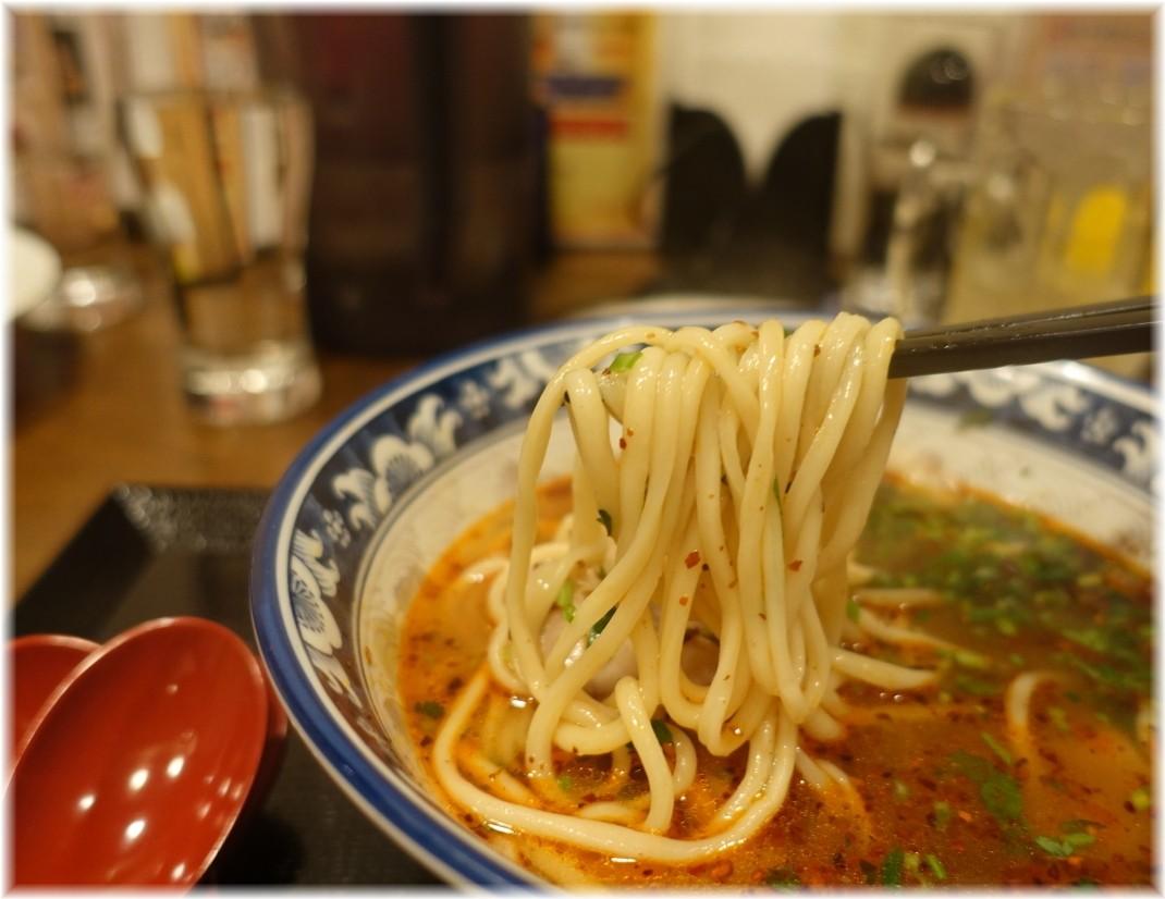 蘭州牛肉麺馬記 蘭州牛肉麺の麺
