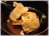 名古屋驛麺通り 屋台 つけ麺(普通盛り)のチャーシューとメンマ