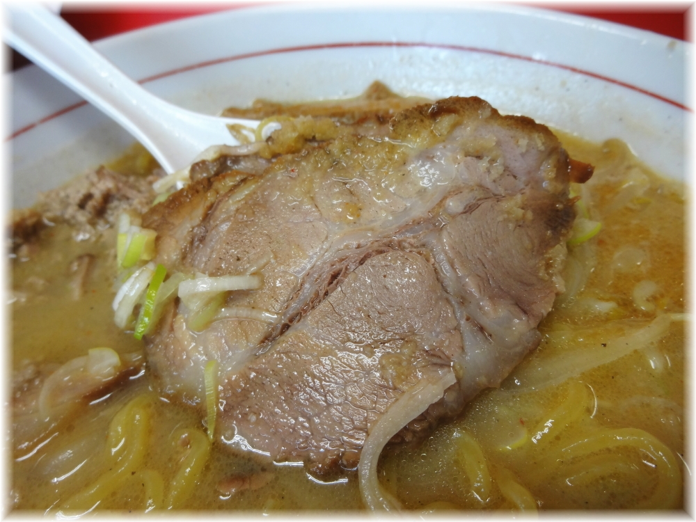 みずき 味噌拉麺のチャーシュー