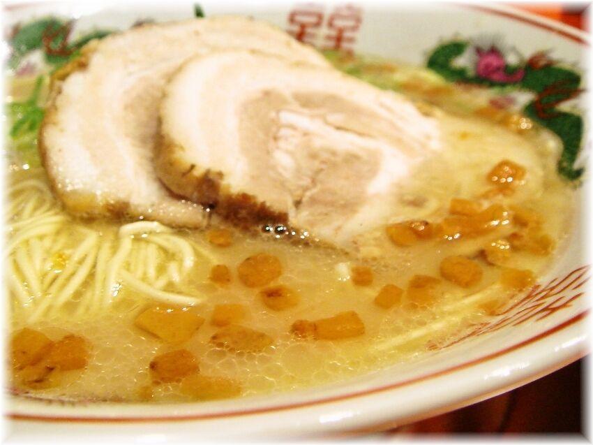 福ヤ 通称カリカリが浮いたスープ