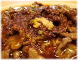 川菜館 水煮牛肉のアップ
