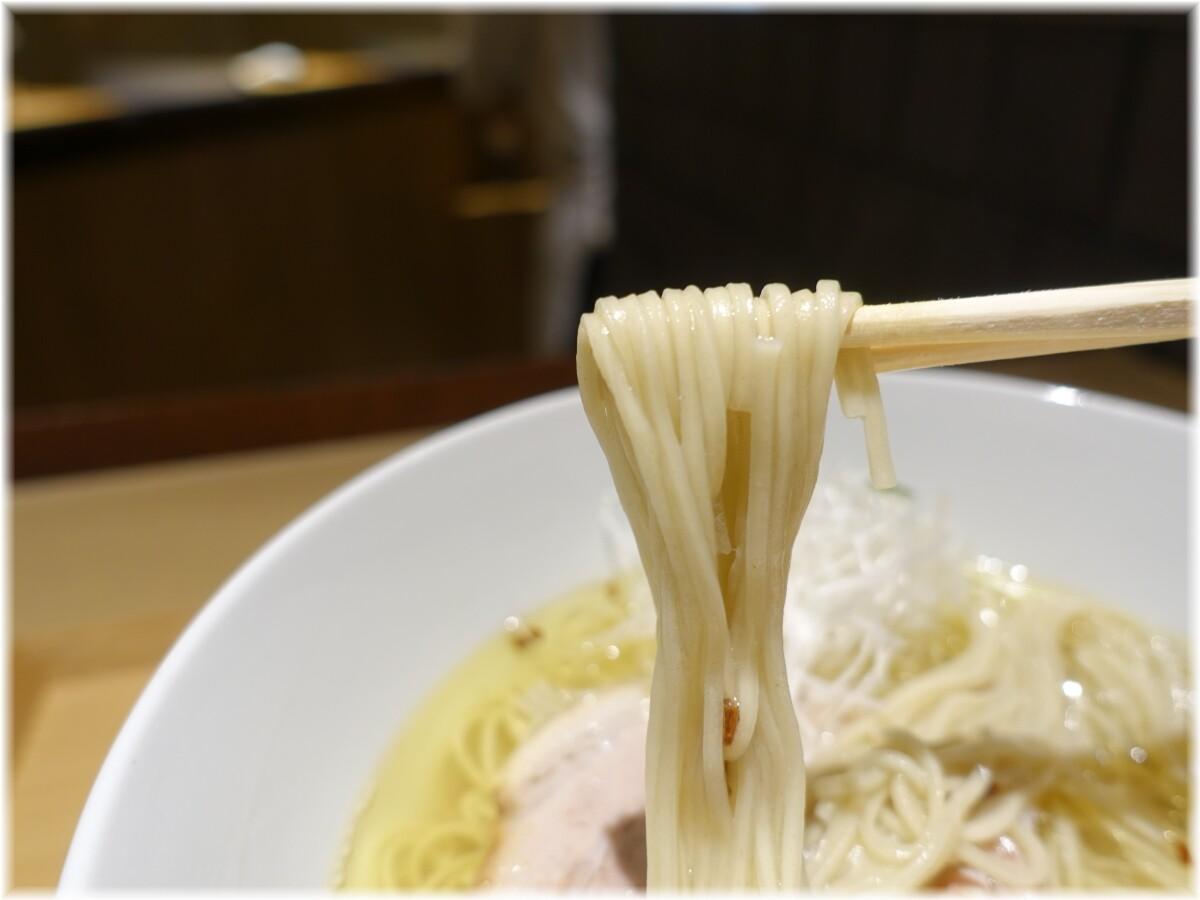NIPPONRAMEN凛 塩らぁ麺の麺