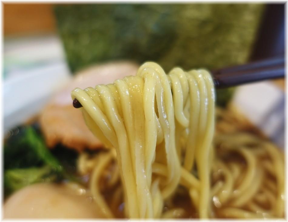ラーメン黒王 味玉ラーメンの麺