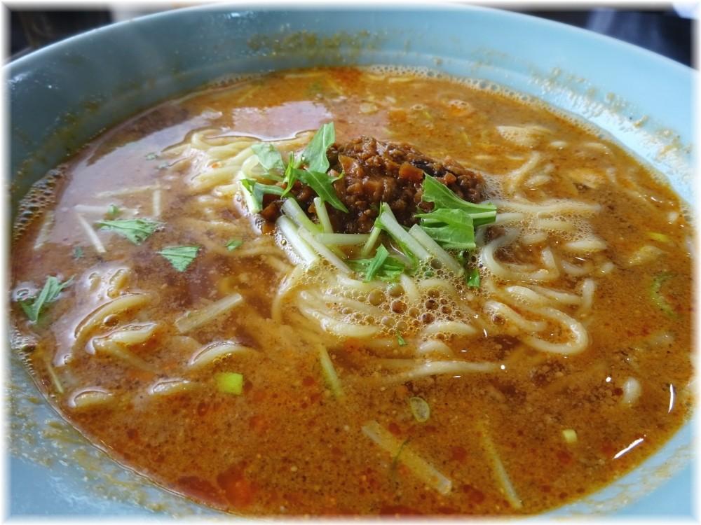 中華四川 陽楽 担々メンのスープ