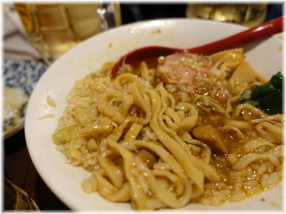 金町製麺8 合い盛りラーメンみたいのの麺とご飯