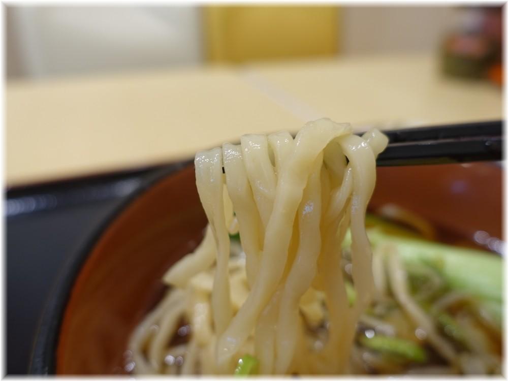 三商巧福赤坂店 牛肉麺の麺
