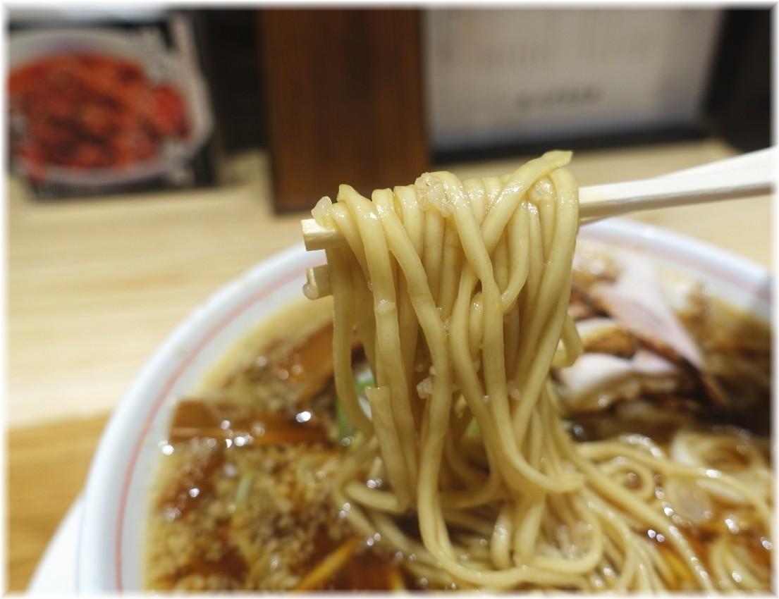 バラそば屋阿佐ヶ谷店 バラそば醤油の麺