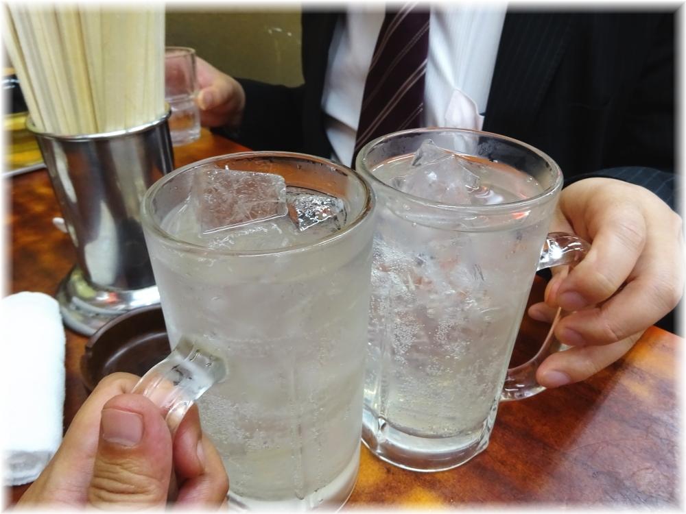 環七土佐っ子ラーメン 乾杯レモンサワー