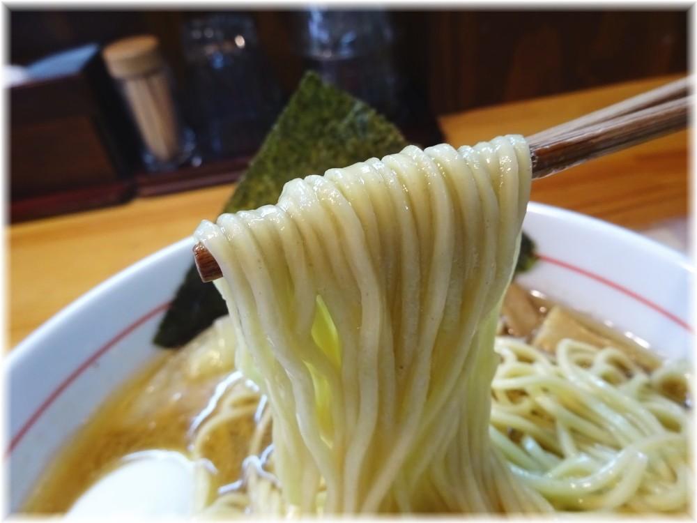 コムギの夢 特製中華そばの麺