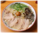 博多ラーメン味納喜知 塩とんこつラーメン