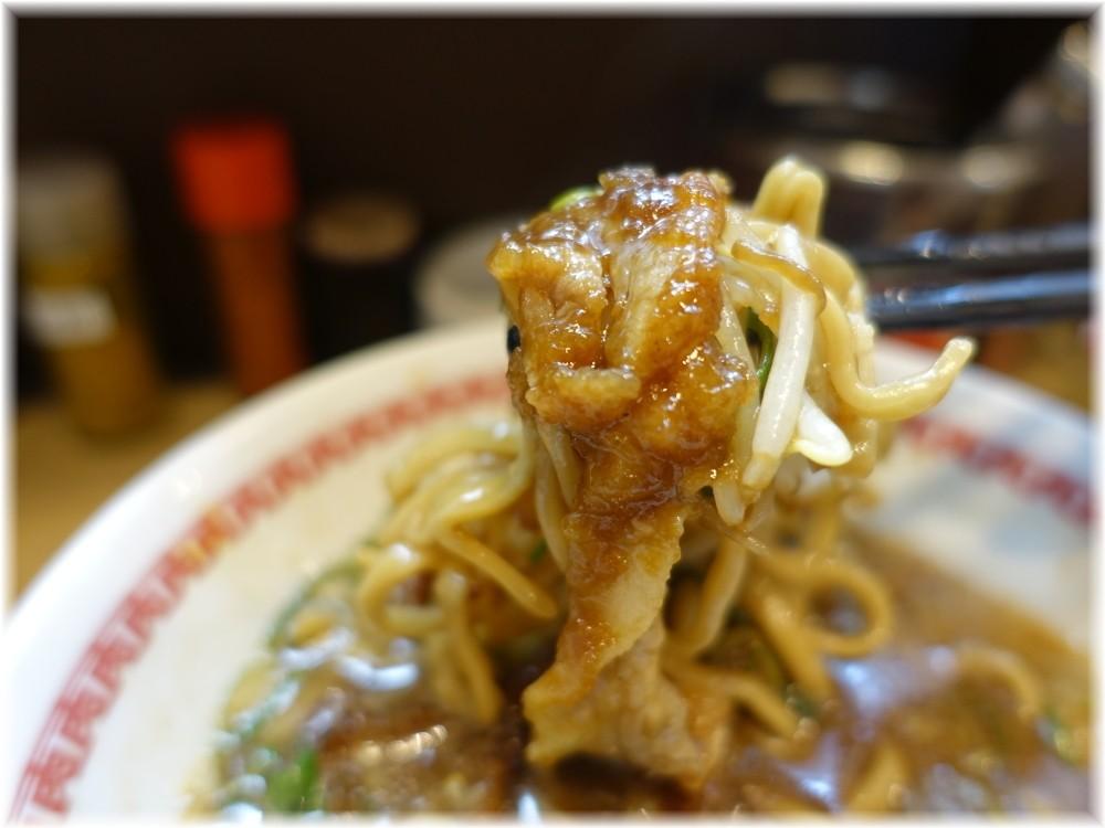 肉汁麺ススム三田店 肉汁麺(レベル2)の具3