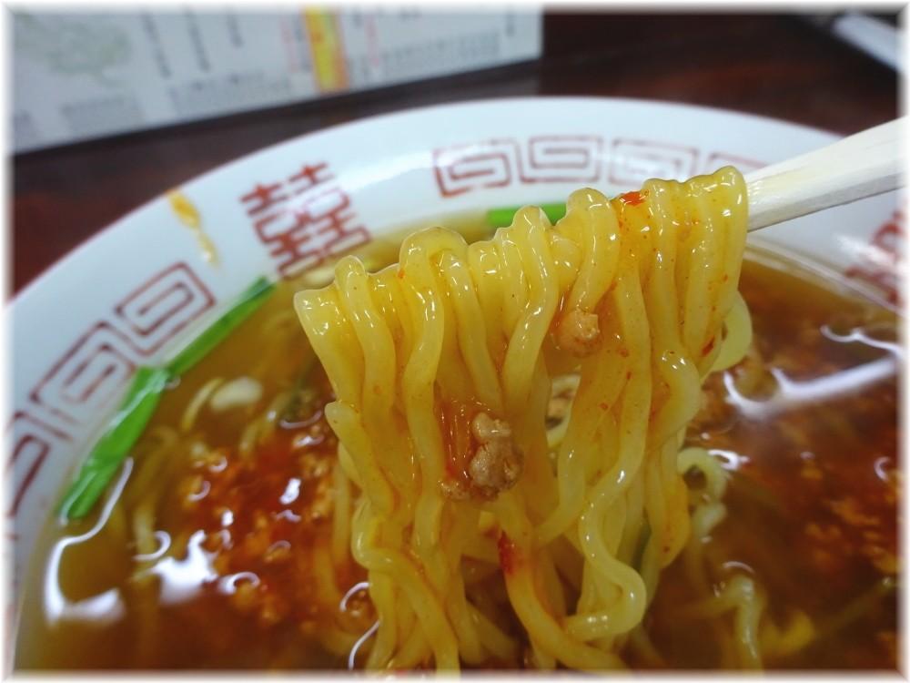 漫々亭@指扇 スタミナラーメンの麺