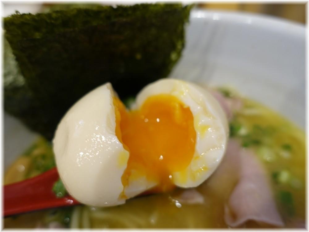 純鶏soba煌 特製純鶏らーめんの味玉