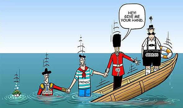 欧州危機、風刺画、風刺絵