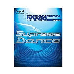 Roland WAVE EXPANSION BOARD Supreme Dance SRX-05