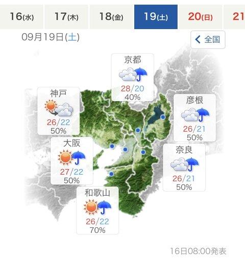 予報 尼崎 市 天気