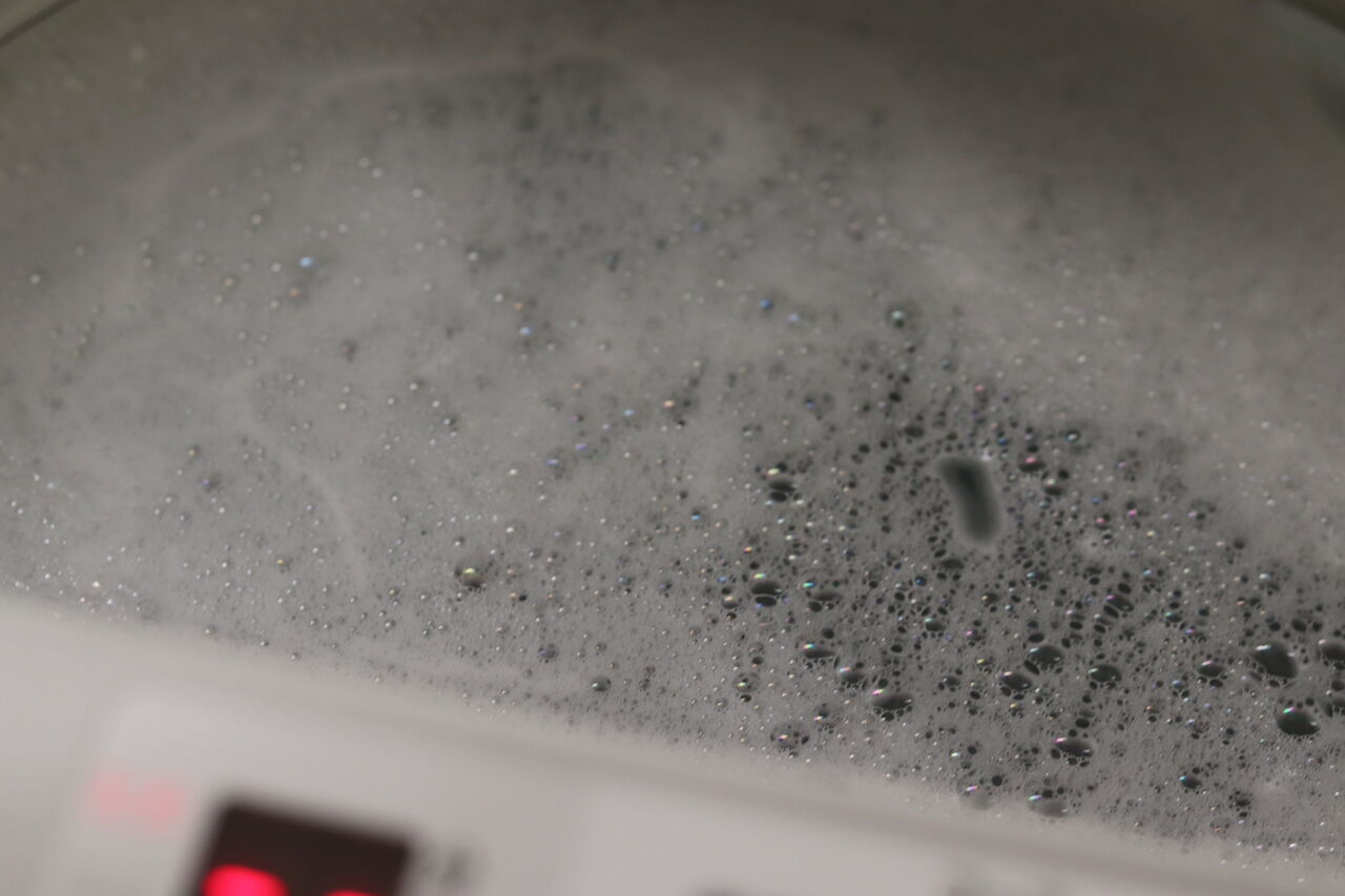 オキシ 方 マスク クリーン 洗い