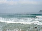 サーフィン台風後