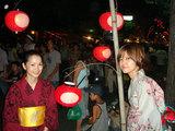 CREVASSE前ちょうちん祭り美緒、洋子その2