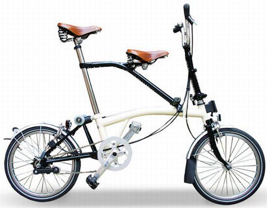 自転車の 自転車 親子乗り : itandem_ Itchair ブロンプトン用 ...