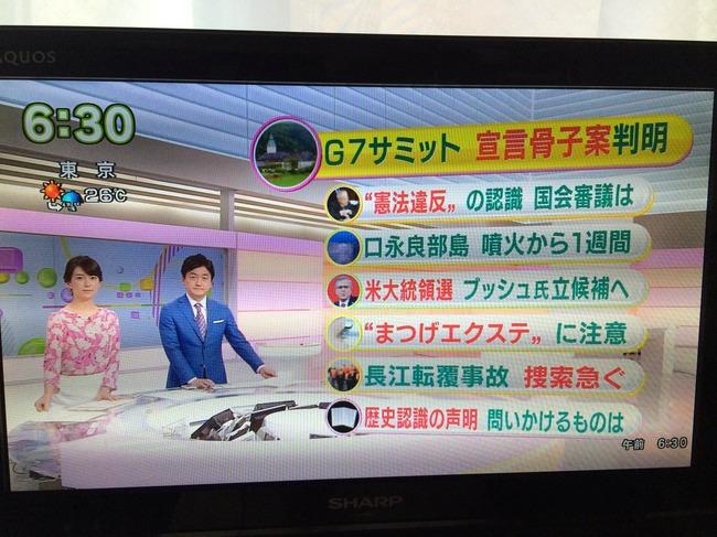 集団的自衛権憲法違反NHK朝ニュース2015年6月5日