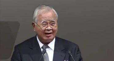 米倉弘昌経団連会長TPPやじ
