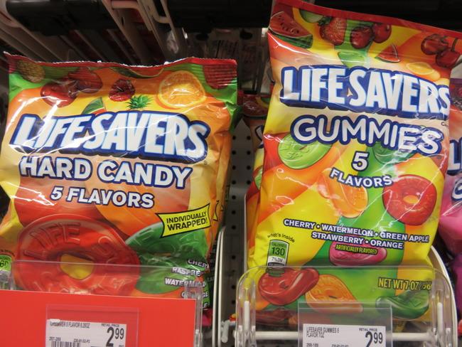 Lifesavers・グミ・キャンディー